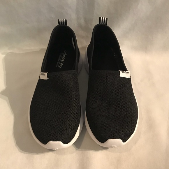 Size 8.5 Women's Adidas Neo Shoes Black and White